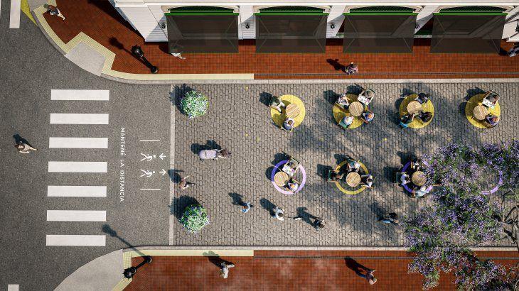 area peatonal